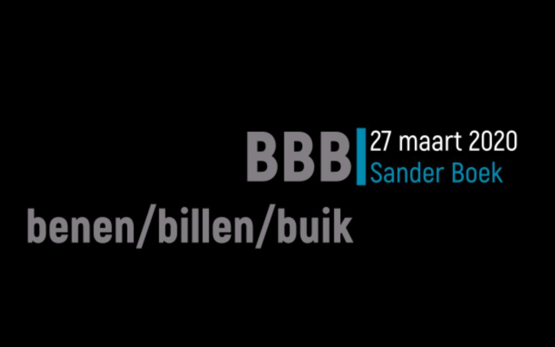 BBBBB: Buik Bovenbenen Billen Blijven Belangrijk :-)