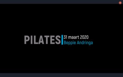 Een fijne pilates les door Beppie Andringa
